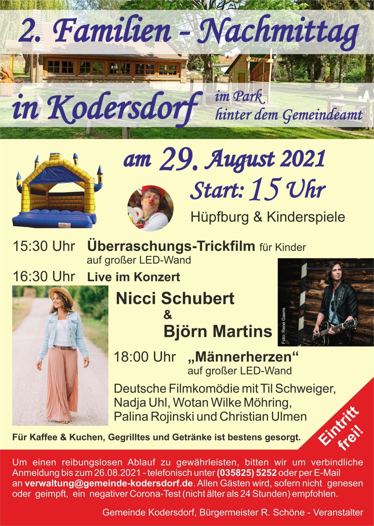 2. Familien-Nachmittag in Kodersdorf