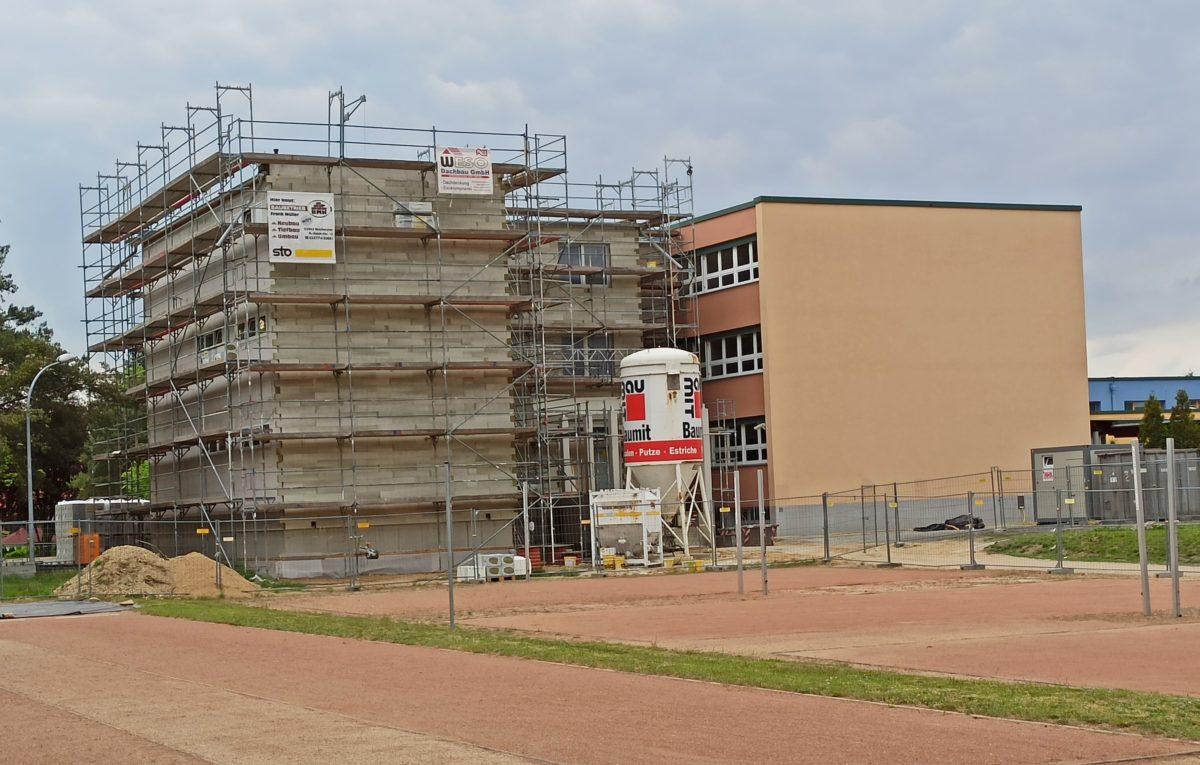 Bauliche Erweiterung der Oberschule Kodersdorf