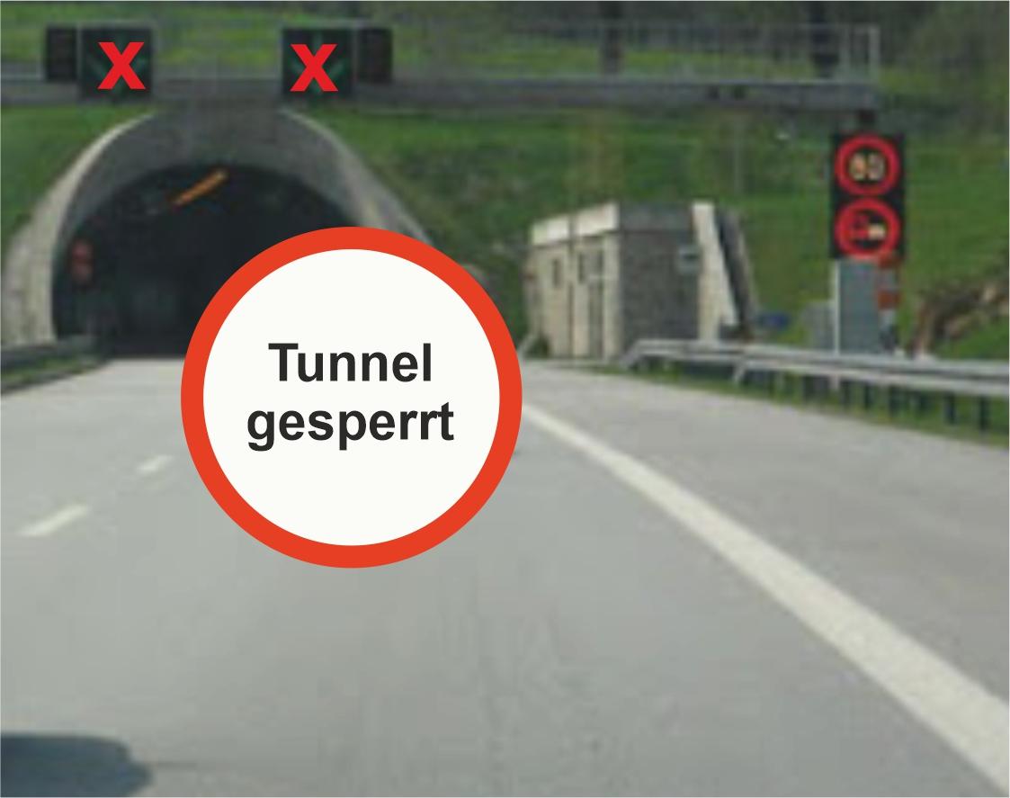 Tunnelwäsche und -wartung